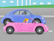 Barbie en Auto Divertida Boda