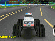 Camiones Monster Policía