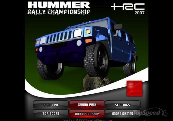 Copa Rally Hummer