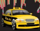 Estacionamiento de Taxi New York