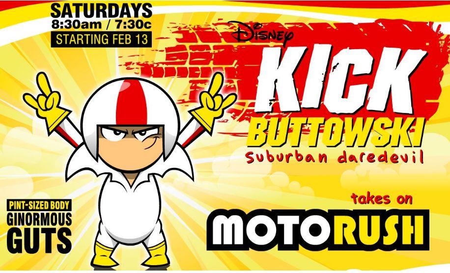 Kick Buttowski Moto Veloz
