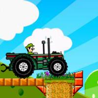 Mario Carrera de Tractor