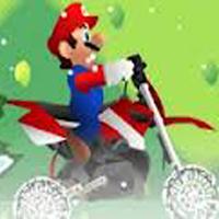 Mario Motocross en la Nieve