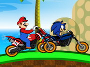 Mario vs. Sonic Competencia