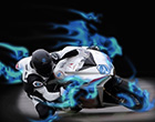 Moto 3D Alta Velocidad
