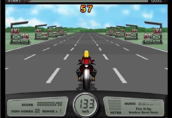 Motociclista de la Pesada